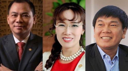 Những tỷ phú Việt được nước ngoài đánh giá cao