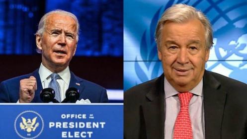 Tân tổng thống Mỹ quyết định tái tham gia Tổ chức Y tế Thế giới, Tổng thư ký Liên hợp quốc hoan nghênh