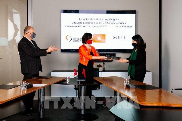 Cityland Education Việt Nam và EHL Thụy Sĩ hợp tác đào tạo nghề khách sạn-nhà hàng