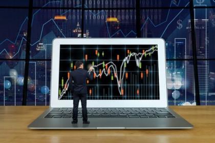 Cổ phiếu ngành tài chính tiếp tục giảm, VN-Index liên tục rung lắc