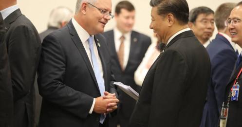 """Australia ra """"tối hậu thư"""" để gặp Trung Quốc tháo gỡ căng thẳng"""