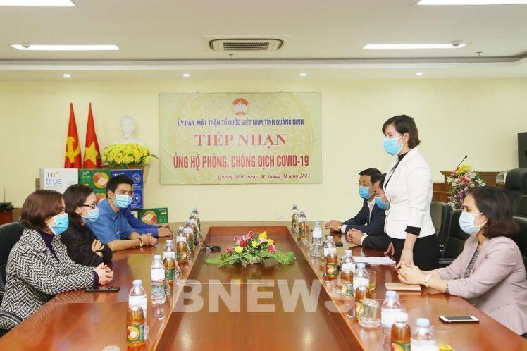 Tập đoàn TH tặng 201.600 ly sữa tươi tiếp sức Hải Dương, Quảng Ninh chống dịch COVID-19