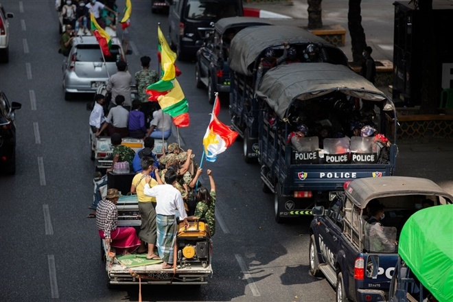 Chính biến có thể khiến Myanmar mắc kẹt trong cạnh tranh Mỹ-Trung?