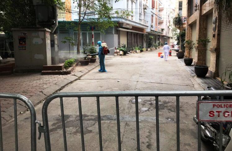 Ghi nhận thêm ca nhiễm mới tại phường Dịch Vọng Hậu, Cầu Giấy