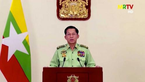 Tướng Myanmar gửi thư cho Thủ tướng Thái Lan đề nghị hỗ trợ