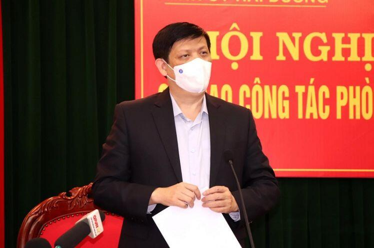 Bộ trưởng Nguyễn Thanh Long: Dịch bệnh ở Hải Dương còn phức tạp, khó lường  và có thể kéo dài
