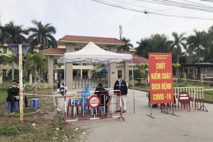 Hải Phòng giãn cách xã hội một số thôn, xã và phong tỏa 3 khu vực vì dịch