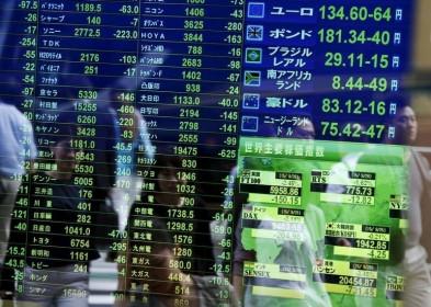 Chứng khoán châu Á mở cửa giảm điểm với lo ngại về lạm phát