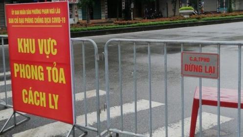 Người phụ nữ bán hàng ở huyện Thanh Hà, Hải Dương nghi mắc Covid-19