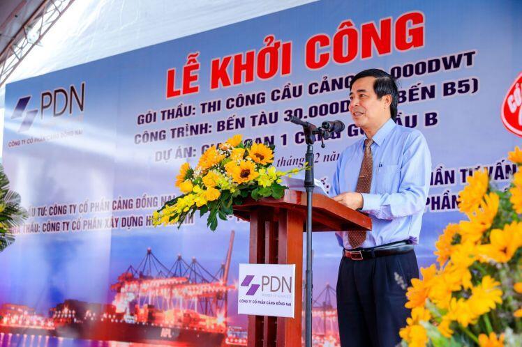 PDN khởi công bến tàu 30.000DWT thứ 2 tại Cảng Gò Dầu