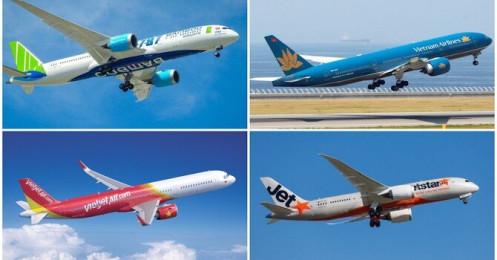 """Các hãng hàng không Việt tung nhiều """"chiêu độc"""" hút khách"""