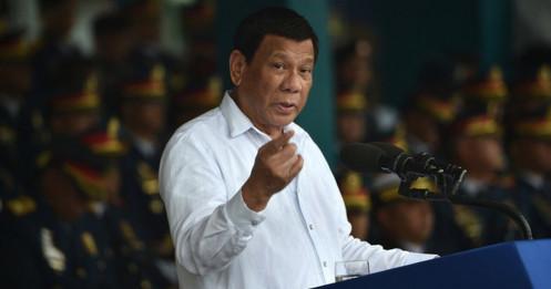 Ông Duterte dọa hủy hiệp ước nếu Mỹ đặt vũ khí hạt nhân ở Philippines