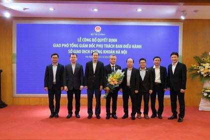 HNX: Ông Nguyễn Anh Phong phụ trách Ban điều hành từ ngày 1/3