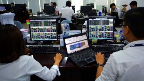 Một số cổ phiếu ngân hàng tăng mạnh, VN-Index vẫn giảm điểm