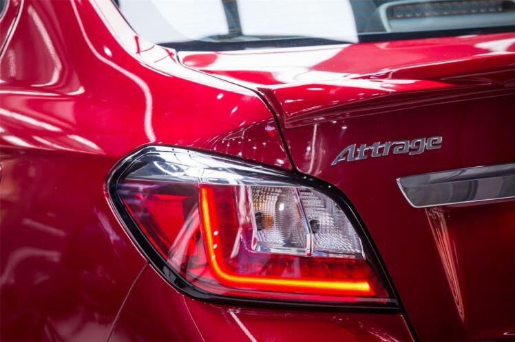Cận cảnh Mitsubishi Attrage phiên bản đắt nhất, cạnh tranh với Hyundai Accent, Toyota Vios