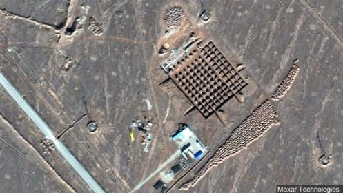 Ảnh vệ tinh lộ tham vọng hạt nhân của Trung Quốc