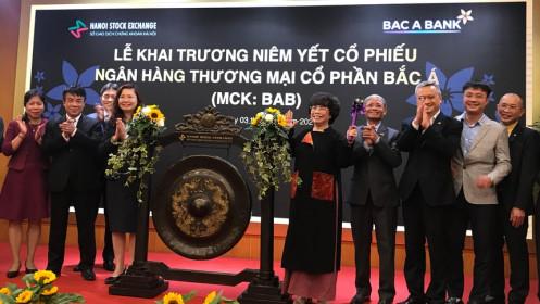 Cổ phiếu BAC A BANK (BAB) tăng kịch trần trong ngày chào sàn HNX