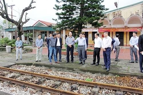 Tổng công ty Đường sắt Việt Nam sẽ xây dựng khu vực Logistics tại Nghệ An