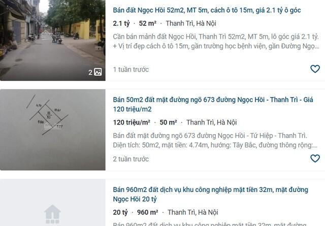 """Giá đất nhảy múa ở khu vực ven đô Hà Nội: """"Sốt"""" đất ở miệng cò?"""