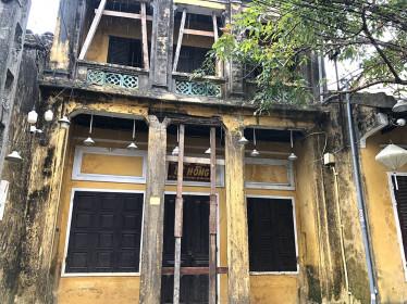 """Quảng Nam: Lên phương án """"cứu"""" di tích ở phố cổ Hội An"""
