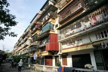 Hà Nội có hơn 1.500 chung cư cũ nát, xuống cấp nhanh đang chờ cải tạo