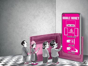 Sẵn sàng cho tiền di động Mobile Money