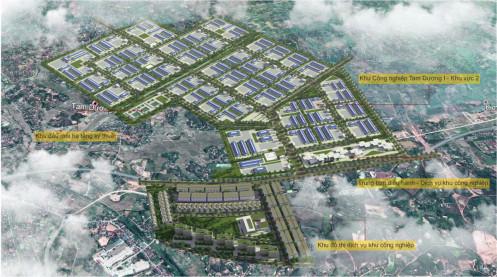 Tập đoàn Sơn Hà là nhà đầu tư khu công nghiệp 162 ha tại Vĩnh Phúc