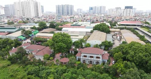 Hà Nội: Giá đất tăng theo đồ án quy hoạch khu đô thị sông Hồng
