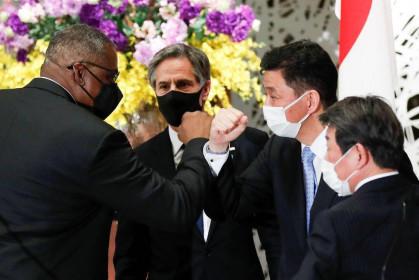 Liên minh Mỹ - Nhật vạch 'chiến tuyến' với Trung Quốc