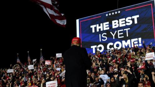 Ông Trump hứa giúp đảng Cộng hòa kiểm soát lưỡng viện quốc hội rồi mới tính chuyện tranh cử