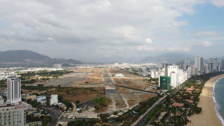Những hình ảnh về khu đất sân bay Nha Trang cũ chuẩn bị đấu giá