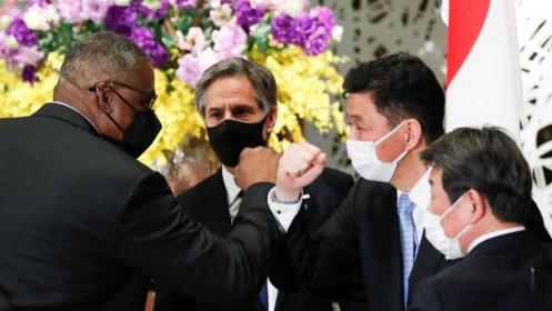 Nhật - Mỹ lên án 'hành vi gây bất ổn' của Trung Quốc