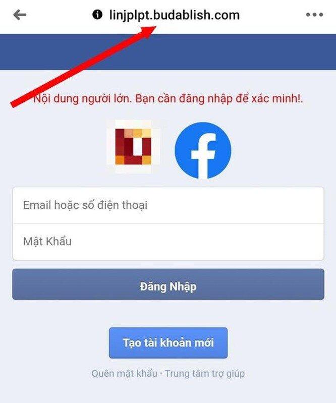 Cảnh báo: Tái diễn chiêu lừa để lấy cắp tài khoản Facebook tại Việt Nam