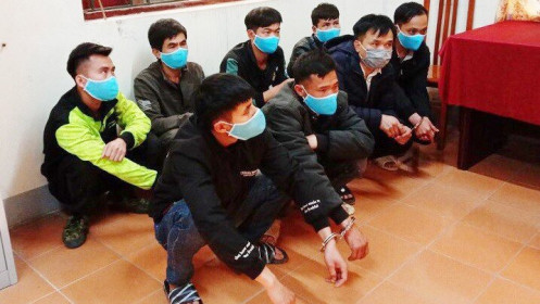 Khởi tố nhóm đối tượng đưa người Trung Quốc nhập cảnh trái phép