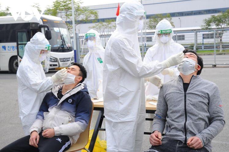 Hải Dương đảm bảo an toàn, phòng chống dịch bệnh tại Khu công nghiệp ở Chí Linh