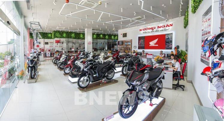 Honda chiếm khoảng 80% thị phần xe máy tại Việt Nam
