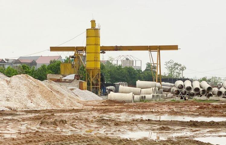 Cả trăm mét sông bị Cty Thăng Long san lấp trái phép: Hạt quản lý đê Sóc Sơn nói gì?