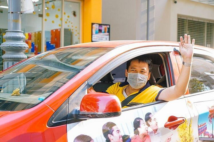 Be là hãng xe công nghệ đầu tiên có khu vực đón khách riêng tại sân bay Tân Sơn Nhất