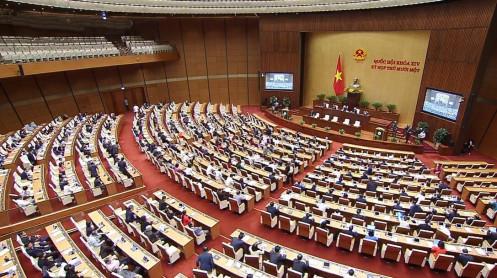 Ngày làm việc đầu tuần 5/4, Quốc hội tiến hành bầu Chủ tịch nước, Thủ tướng Chính phủ
