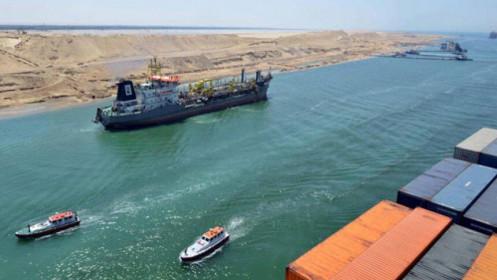 Ùn tắc giao thông tại kênh đào Suez đã hoàn toàn được giải tỏa