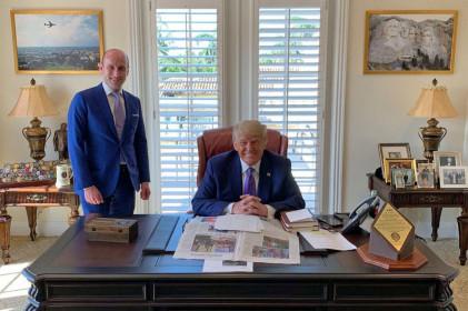 'Phòng Bầu dục' mới của cựu Tổng thống Trump hé lộ điều gì?