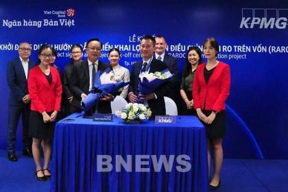 Ngân hàng Bản Việt hợp tác cùng KPMG triển khai dự án mới