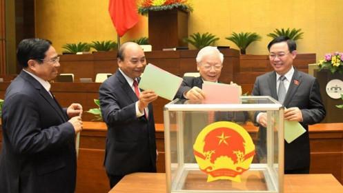 Hôm nay, trình Quốc hội phê chuẩn bổ nhiệm Phó Thủ tướng và Bộ trưởng