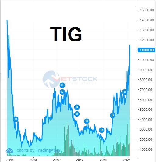 TIG muốn huy động trên dưới 2,000 tỷ đồng từ phát hành chứng khoán
