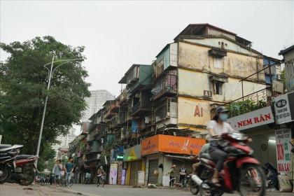 Chậm trễ cải tạo chung cư cũ nát ở Hà Nội