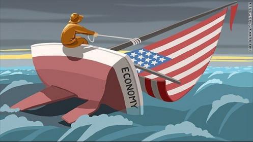 """""""Kỳ đà"""" cản đường kinh tế Mỹ hướng tới kỷ nguyên tăng trưởng vàng"""