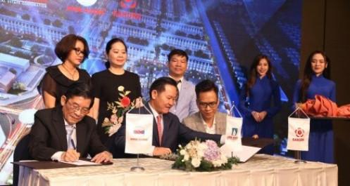 """Băng Dương và Sakura """"bắt tay"""" phát triển dự án Khu đô thị Vị Thanh New City"""
