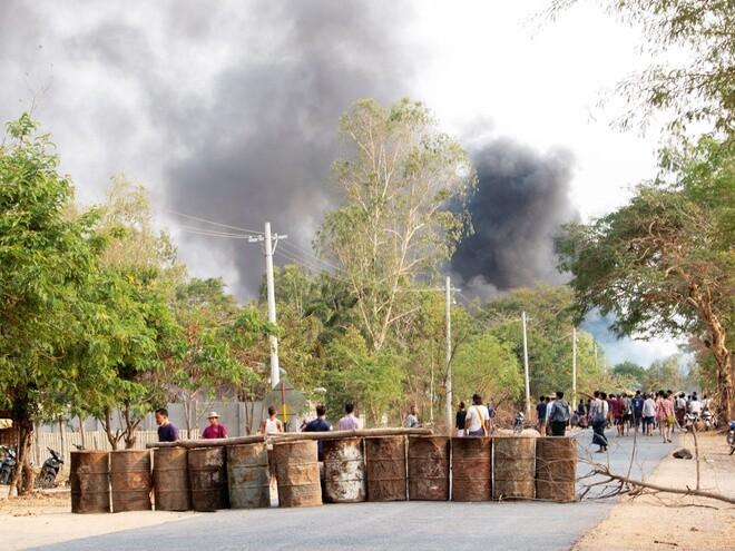 Bạo lực leo thang tại Myanmar