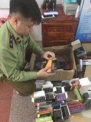 Yên Bái: Tạm giữ gần 700 sản phẩm thuốc lá điện tử