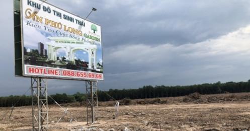 Dự án An Phú Long Garden (Bình Dương): Đang lập thủ tục đất đai đã được xây dựng và chào bán?